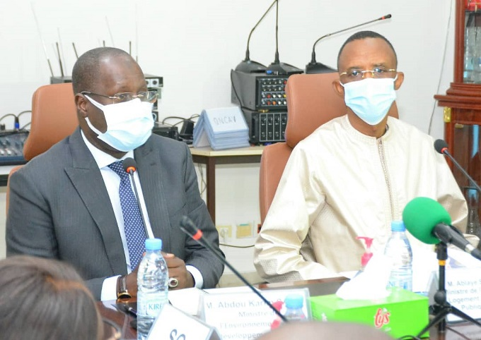 Synergie en vue d'importants projets : Abdoulaye Saydou Sow et Abdou Karim Sall érigent un cadre de collaboration