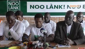 Vaccination des Sénégalais, changement de la loi sur l'Etat d'urgence : Le collectif Noo lank dénonce une forfaiture