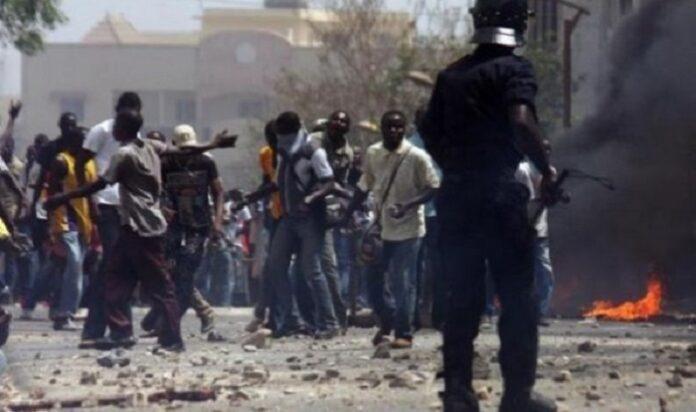 Affrontements entre tabliers des Hlm et policiers