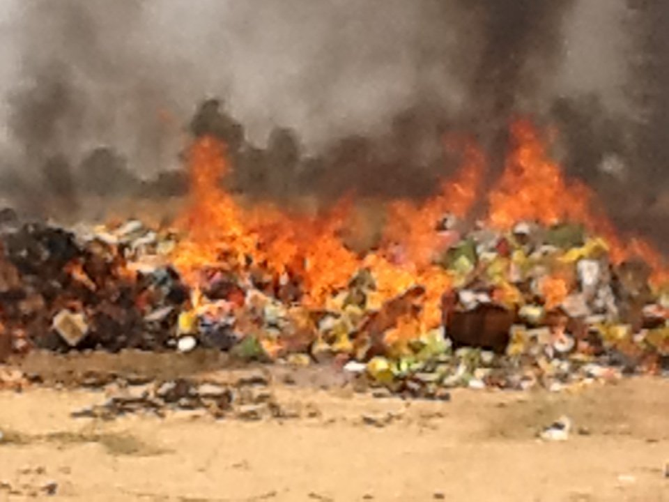 Plus de 320 tonnes de produits impropres détruits