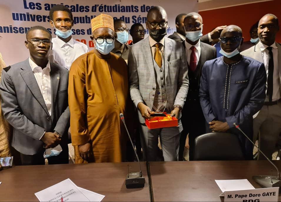Cérémonie de clôture de la rencontre des amicales de l'UCAD: «La paix sociale et la stabilité dans les universités»