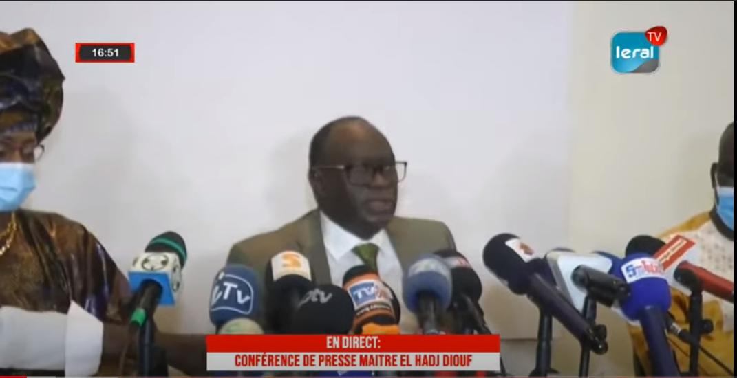 Me Elhadji Diouf réclame l'organisation rapide des élections locales en 2021 et menace de saisir les instances de la Cedeao