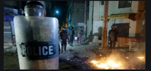 Manifestation contre le couvre-feu: Le commissariat de Police de Guinaw Rails attaqué
