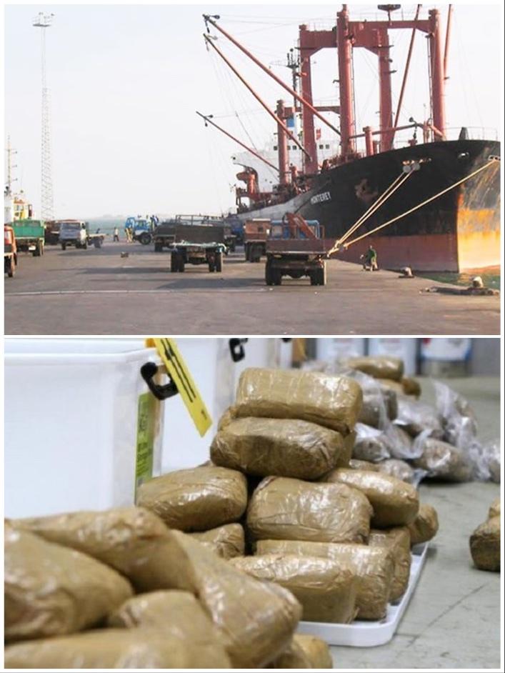 Exclusivité: Saisie de cocaïne d'une valeur de 75 milliards de francs Cfa au port de Banjul