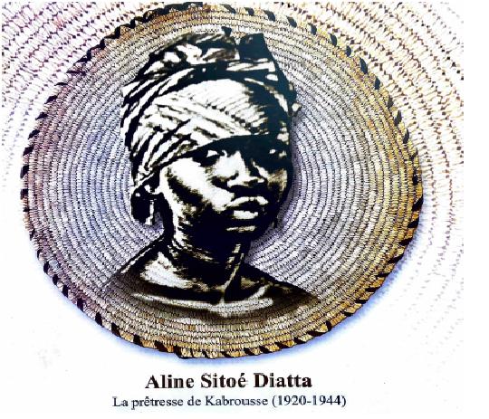 Femmes valeureuses du Sénégal: Aline Sitoe Diatta, la prêtresse de Kabrousse ( 1920-1944)