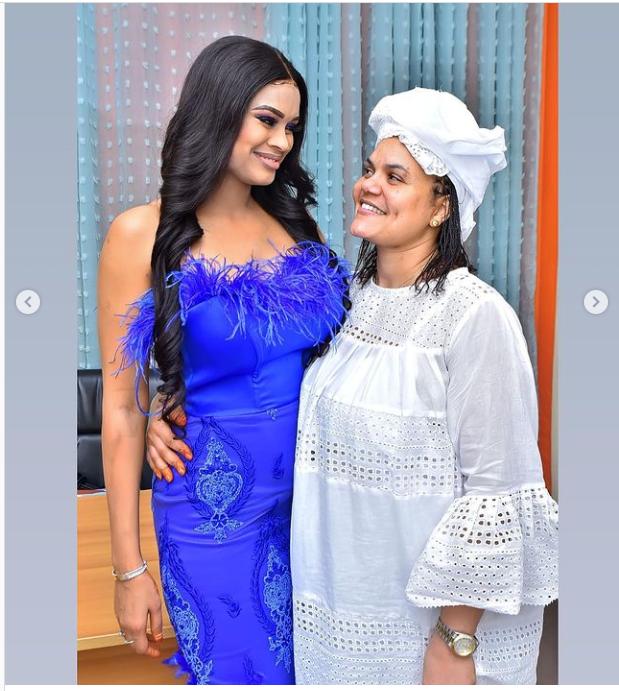 La belle mannequin Marie Louise Diaw fête son anniversaire en grande pompe (Photos)