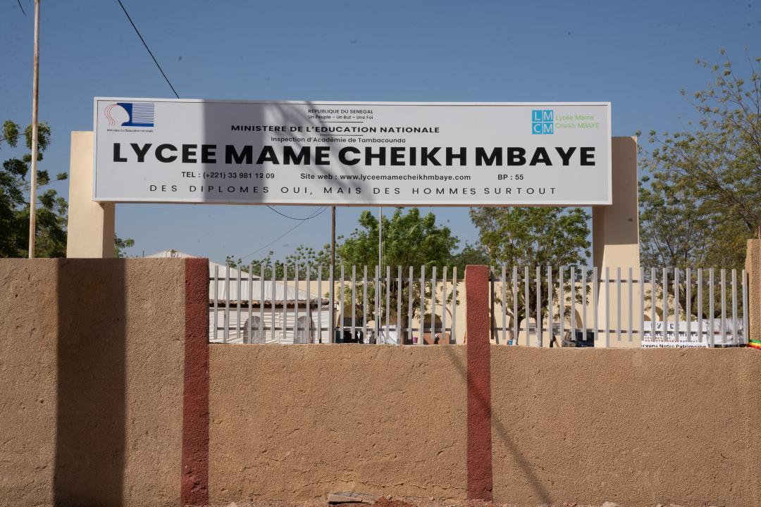 La Fondation Sonatel réhabilite et équipe le lycée Mame Cheikh Mbaye de Tambacounda pour un montant de 500 Millions de FCfa