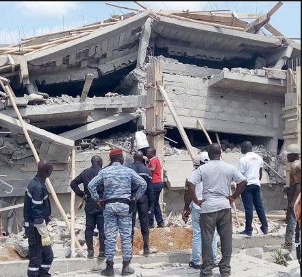 Pout / Effondrement d'un immeuble de l'entreprise 3MD Energy en construction: Les ouvriers coincés dans les débris