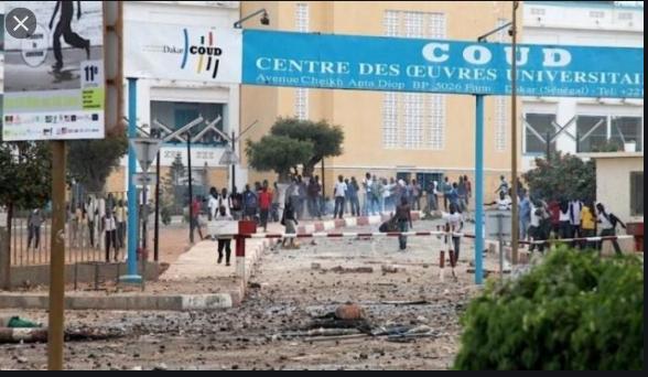 Ucad: Deux étudiants blessés lors des affrontements