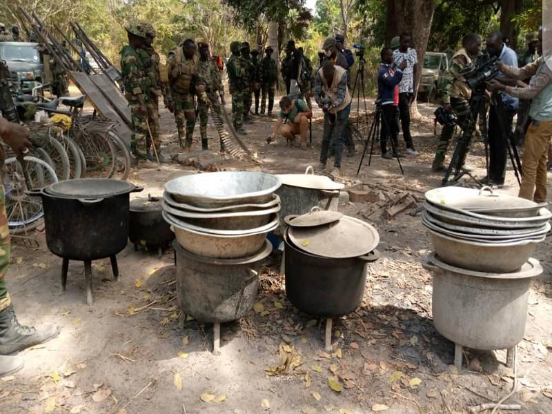Casamance: les rebelles pourchassés, 4 bases et leurs munitions récupérées par l'Armée