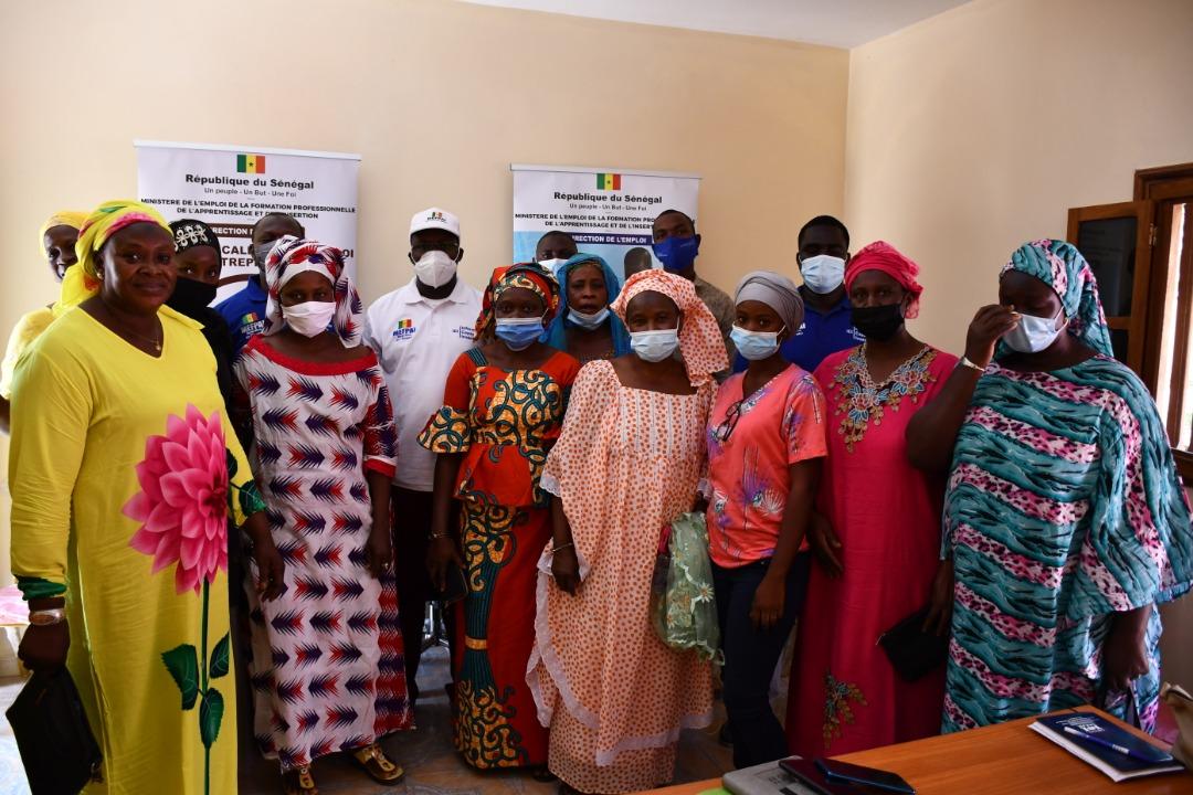Sedhiou- Le Directeur de l'emploi installe le Centre d'Incubation Communautaire (Photos)