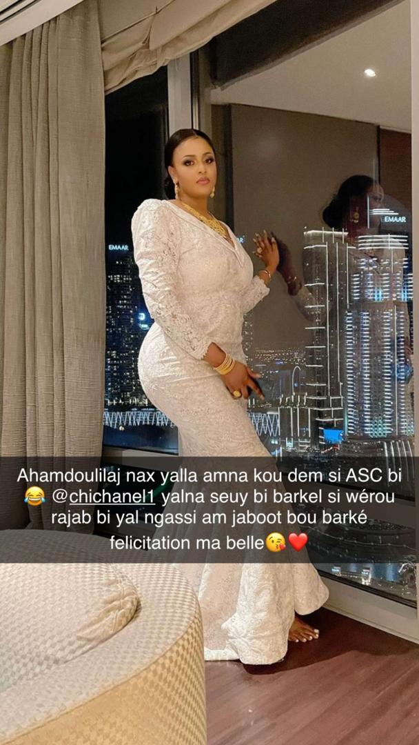 Amina Ndong, la petite sœur de l'ex-mannequin, Aida Ndong, s'est mariée (Photos)