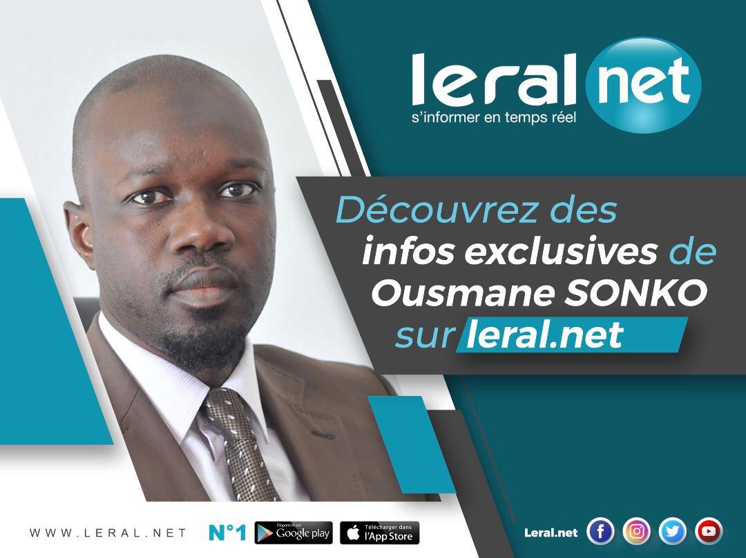 URGENT ! Audition Adji Sarr: Ousmane Sonko en Direct
