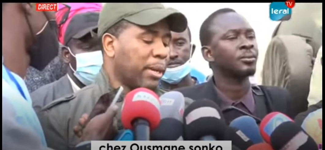 """Bougane Gueye Dany exige la libération immédiate des """"Pastefiens"""" et interppelle l'administration, les forces de l'ordre et la justice à..."""