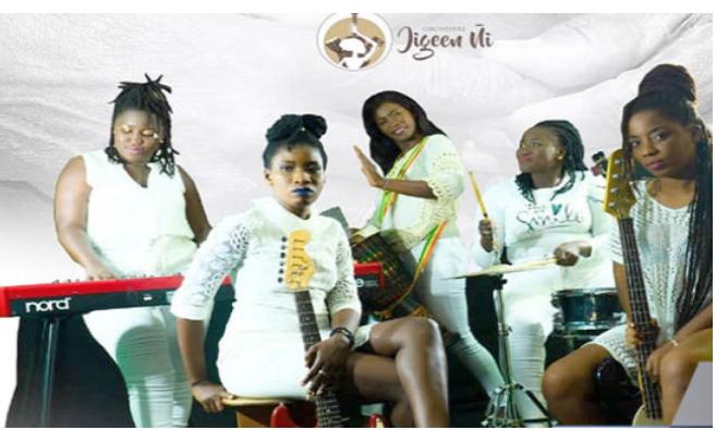 """""""Jigeen ñi"""", des instrumentalistes passionnées à l'assaut de la scène"""