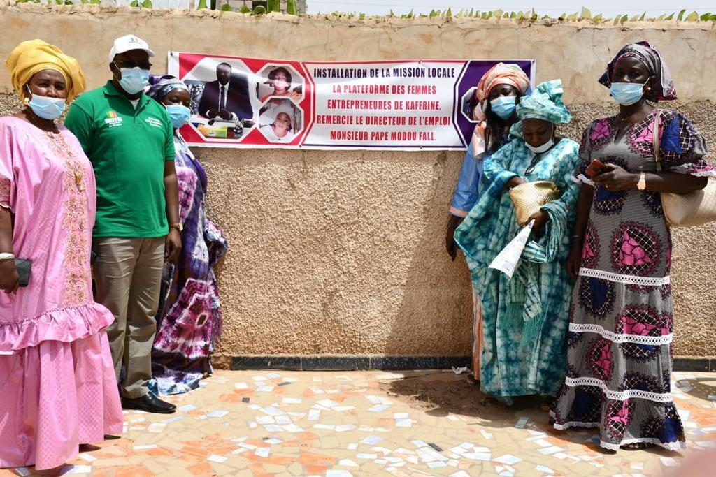 Installation des missions locales: Après la région de Tambacounda, cap sur Kaffrine.
