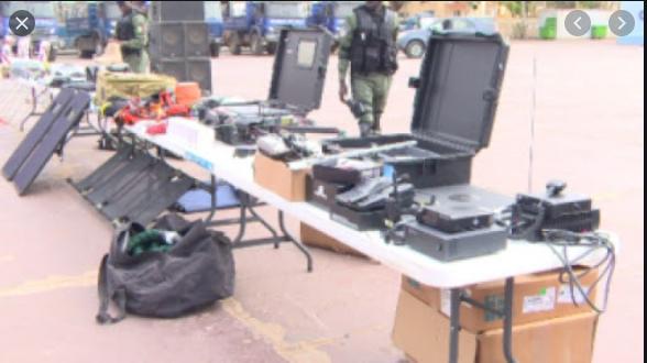 Don: La gendarmerie sénégalaise dotée d'un matériel de police scientifique numérique