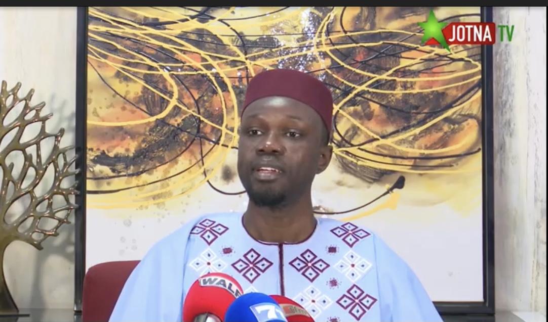 """Ousmane Sonko: """"La lutte n'a même pas encore démarré, leur objectif, c'est..."""""""