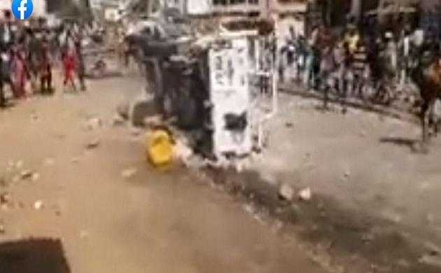 Manifestations dans la banlieue: Saccages à Guédiawaye, aux Parcelles assainies, des bambins aperçus parmi les protestataires