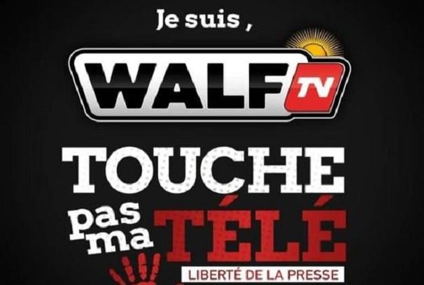 Leur signal suspendu: « Je suis WalfTv ! Touche pas à ma télé ! », clame le Groupe