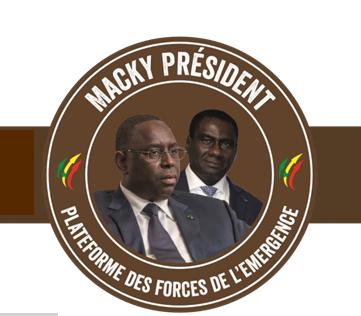 Coordination des mouvements de soutien à l'action du président de la République