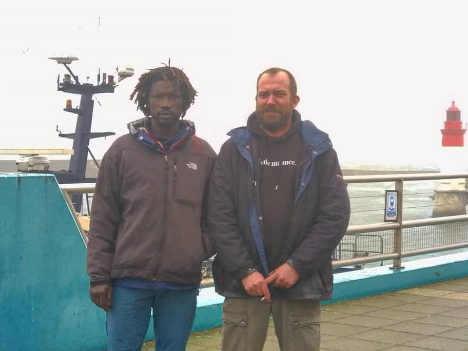 Mobilisation inédite de marins pêcheurs pour Papa Ndiaye, pêcheur sénégalais de 41 ans menacé d'expulsion en Bretagne
