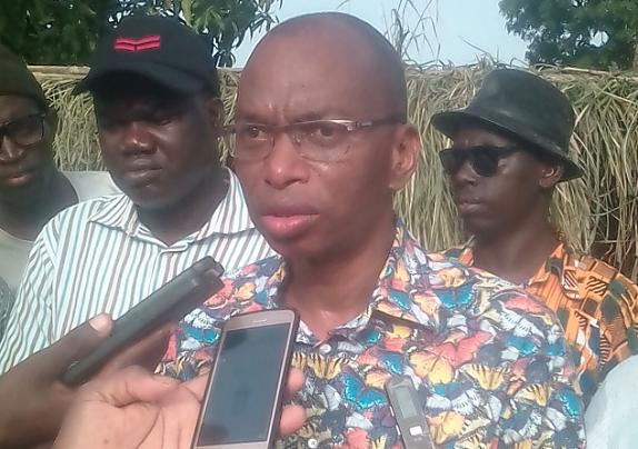 Lycée de Kounkané saccagé lors des manifestations : le ministre Moussa Baldé  à la rescousse
