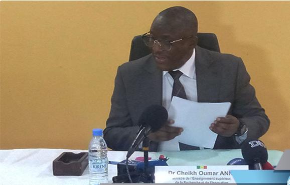 """Enseignement: Cheikh Oumar Hanne relève """"l'impérieuse nécessité'' de nouvelles approches pédagogiques"""