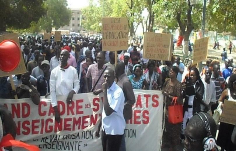 Bounkiling: Le G7 en grève pour exiger la libération de Lamine Badji