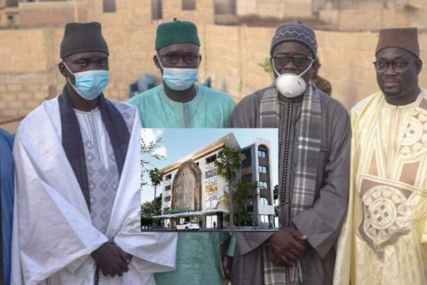 Complexe Mame Abdoul Aziz Sy Dabakh: La pose de la première pierre faite dans la sobriété
