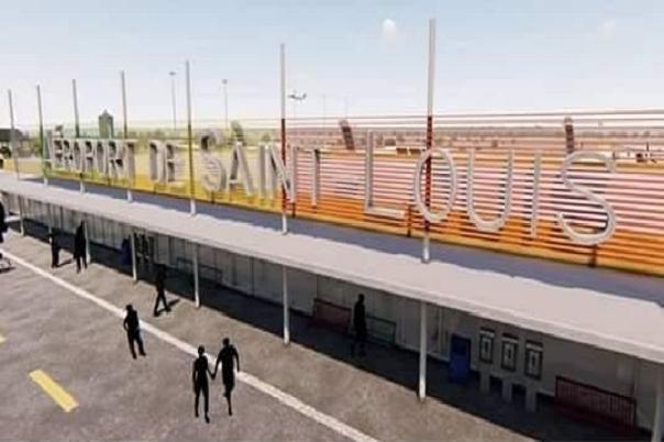 Aéroport de Saint-Louis: Les travaux du chantier avancent à grands pas