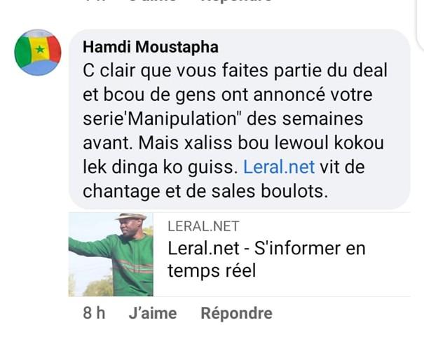 Média: Moustapha Thioune démissionne de Leral à cause des menaces de mort des pro Sonko sur le Groupe ( Preuve )