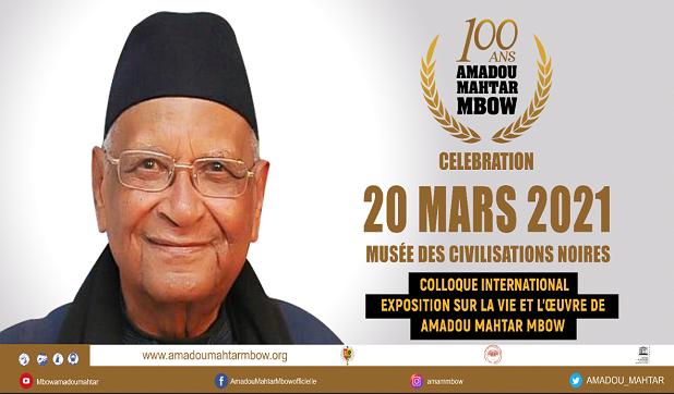 C'est aujourd'hui le centenaire d'Amadou Makhtar Mbow: Un trésor humain vivant célèbré