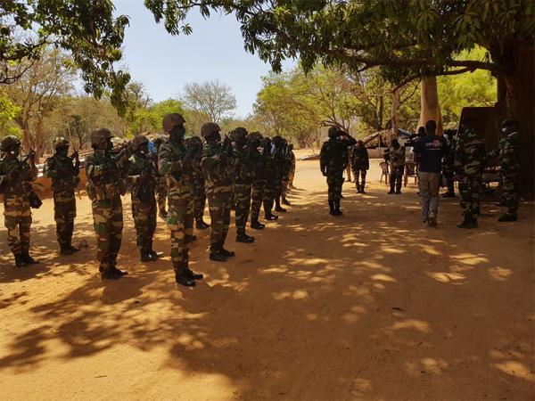 Visite d'adieu du Cemga à Kolda : Dernière revue de troupes au Fouladou du général Birame Diop