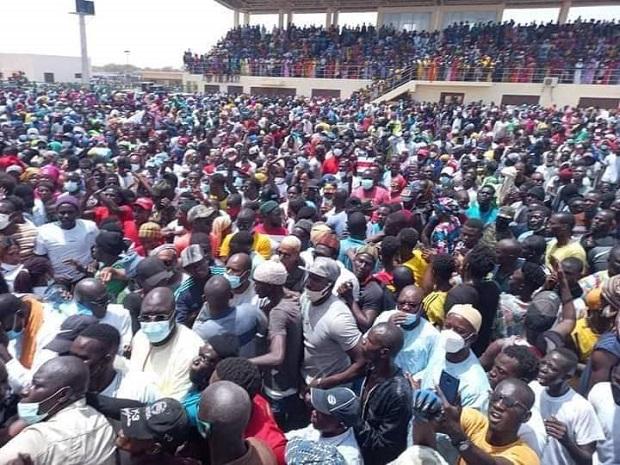 Remobilisation des troupes: Avec une foule impressionnante,  Farba Ngom relève le défi au Fouta
