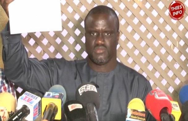 Litige foncier à Thiès: Libéré, Ousseynou Diouf de l'APR explique les raisons de sa garde-à-vue