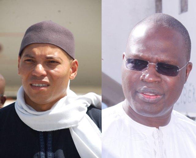 Les 2 K en question: Karim Wade et Khalifa Sall pour isoler Ousmane Sonko?