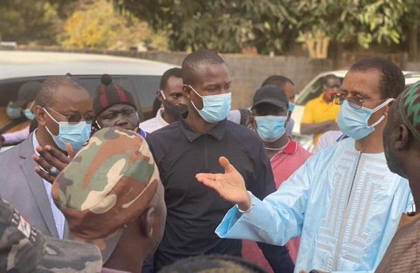 """Alioune Ndoye tente de rassurer les pécheurs de Sanyang : """"L'Etat ne vous a jamais oubliés…"""""""