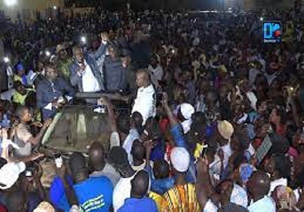 Retour triomphal, forte mobilisation à Dagana: Oumar Sarr plaide pour un Sénégal basé sur les valeurs