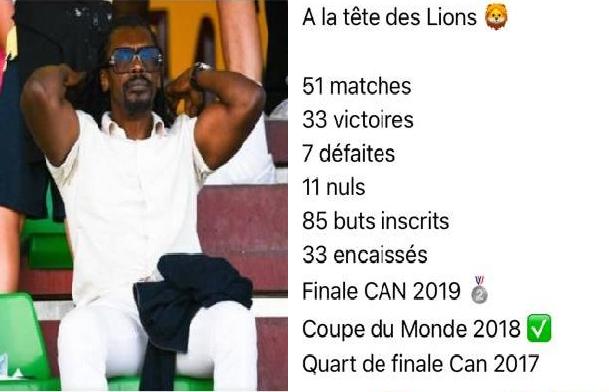 Football / Départ réclamé d'Aliou Cissé: Les Sénégalais ont-ils déjà digéré ses succès ?