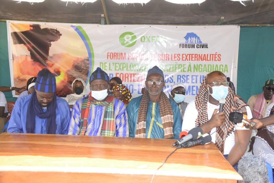 VISITE DU FORUM CIVIL A NGADIAGA: Entre le manque d'eau, d'emplois et de poste de santé, Ngadiaga menace de reprendre ce qui lui revient de droit