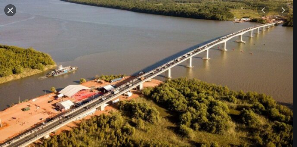 Pont de Rosso: Le Président Sall exprime sa gratitude au Président Mohamed Ould El Ghazaouani