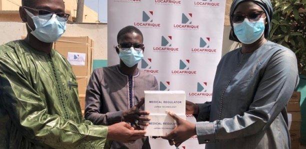 Locafrique équipe l'hôpital Philippe Maguilène Senghor