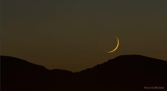 Début du Ramadan / Aspa: Le croissant lunaire visible à l'œil nu mardi