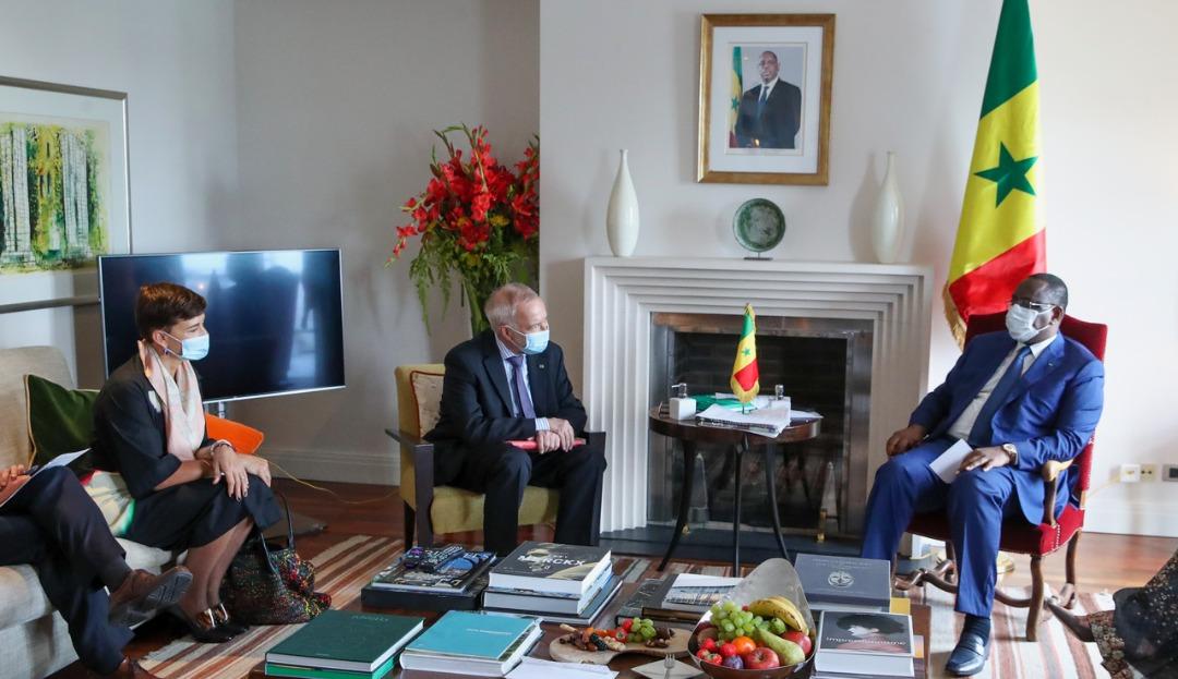 Bruxelles: Voici les points essentiels de la rencontre entre Dr. Werner Hoyer, président de la BEI et le Président Macky Sall