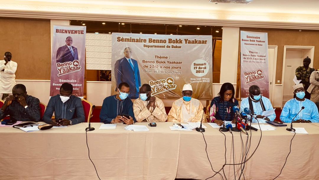 Séminaire de relance des activités de leur département: La déclaration de Benno Bokk Yakaar Dakar