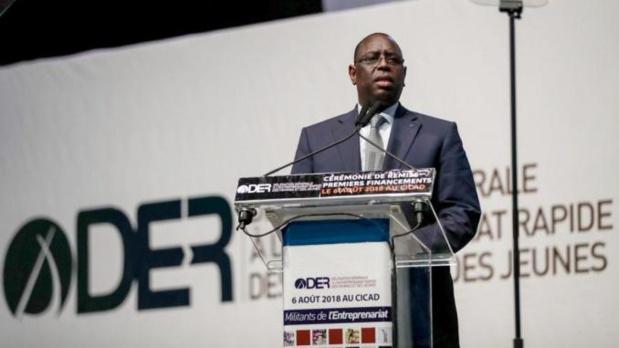 Sénégal: Déficit de financement des jeunes, le DG de la DER « mouille » Macky Sall