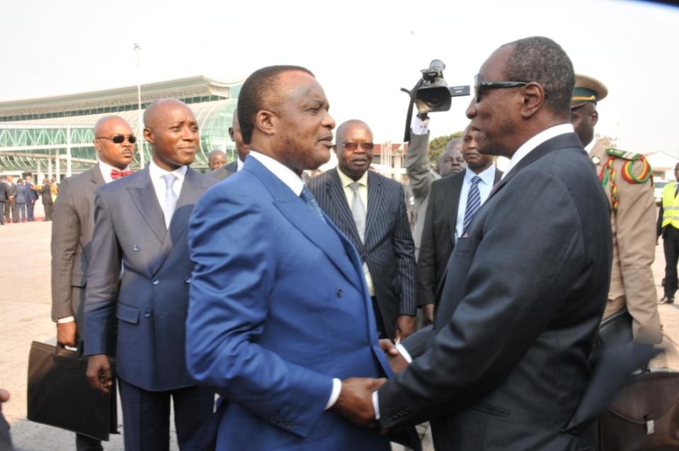 Congo: Tentative de conciliation, Alpha Condé dribble Denis Sassou Nguesso et Umaru Embalo