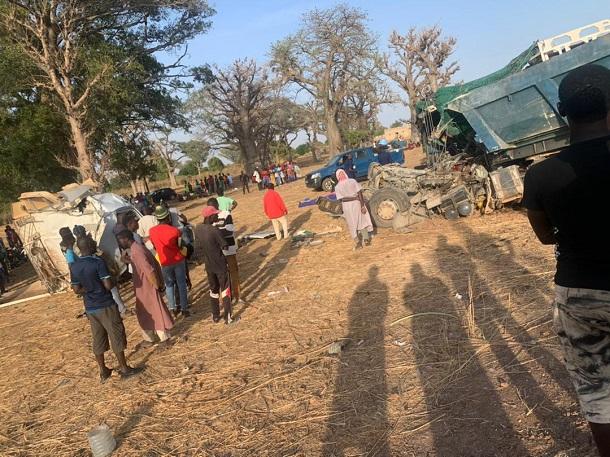 Fatick: Un accident de la route fait 6 morts et plusieurs blessés graves