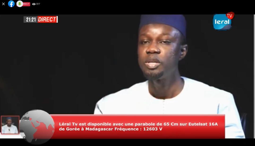 Adresse aux Sénégalais: Ousmane Sonko regrette l'image écorchée du Sénégal, suite aux évènements